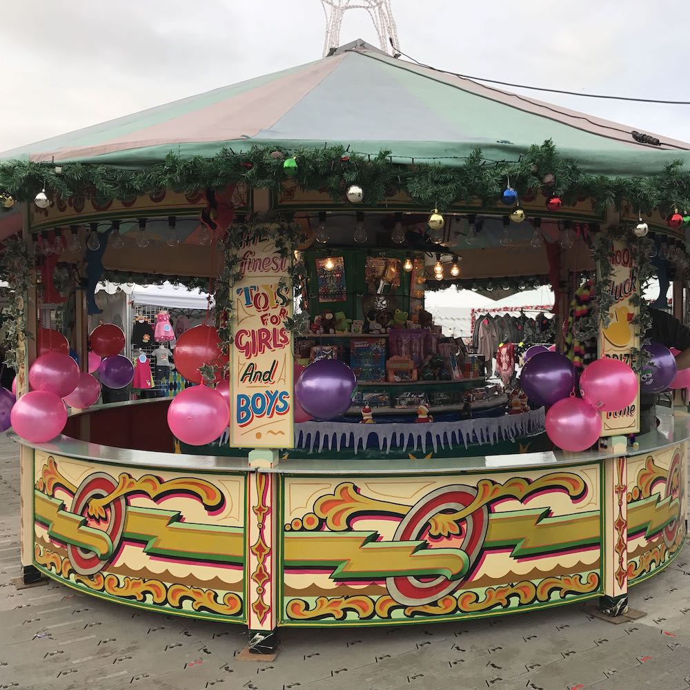Christmas Themed Hook a Duck Round Stall Event Hire